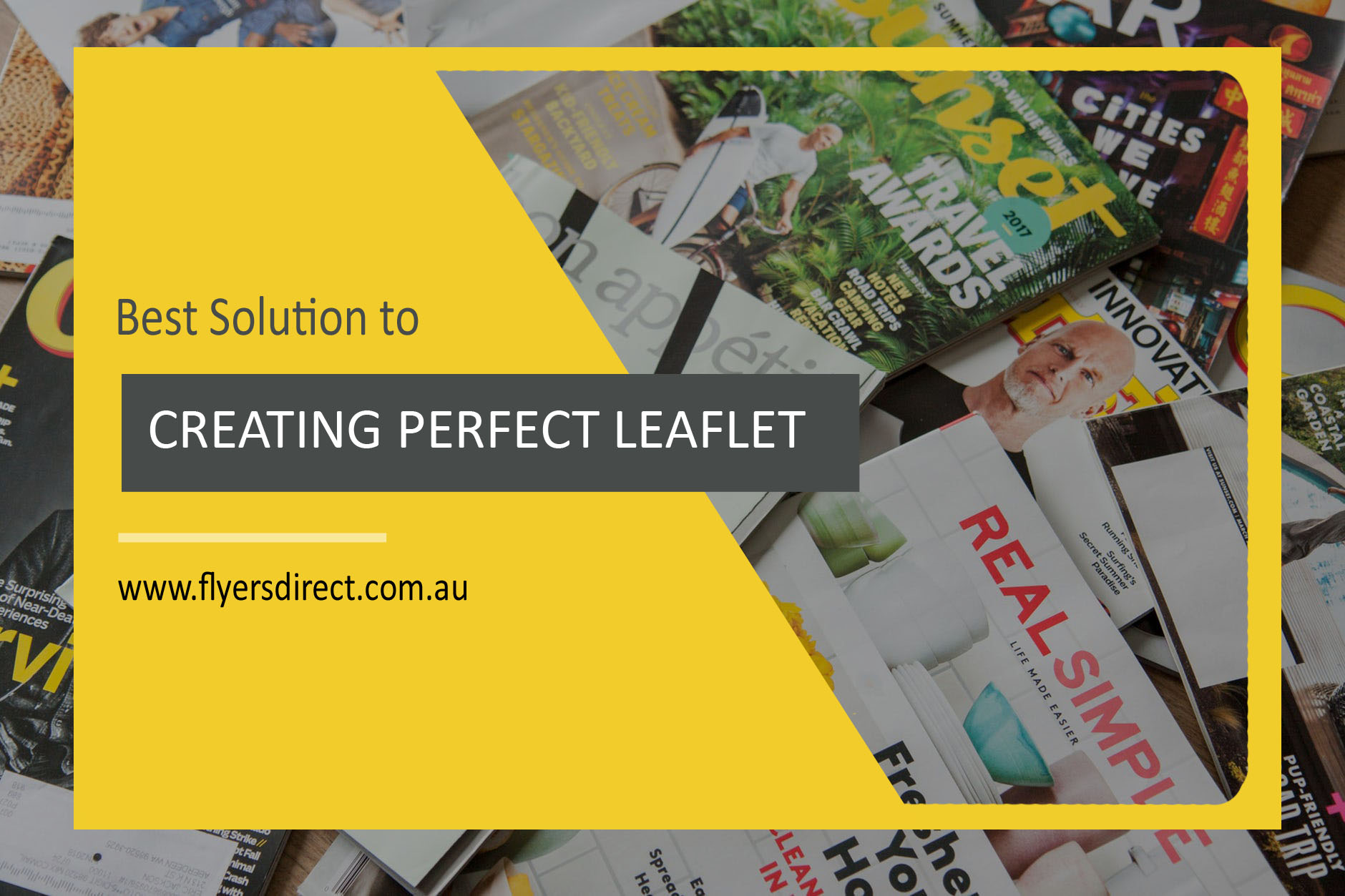 Best Solution to Creating that Perfect Leaflet